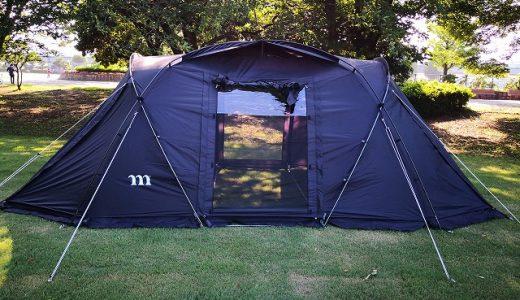 ムラコ ziz 5P  購入!ファミリー向けブラックテント。拡張式のタープが秀逸。
