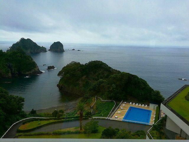 堂ヶ島ニュー銀水雨の日